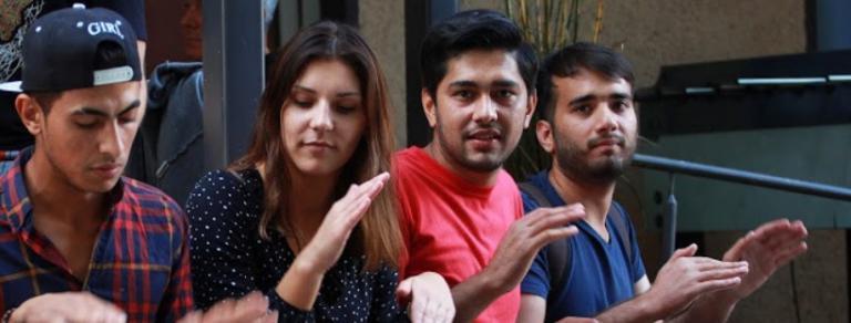 Artscape meninės veiklos su pabėgėliais